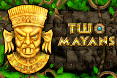 logo two mayans novomatic slot game
