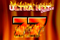 logo ultra hot deluxe novomatic slot game