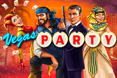 logo vegas party netent slot game