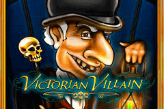 logo victorian villain microgaming slot game