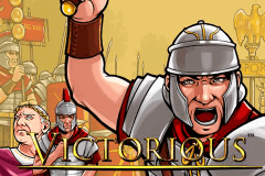 logo victorious netent slot game