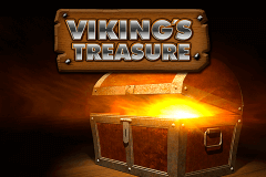 logo vikings treasure netent slot game