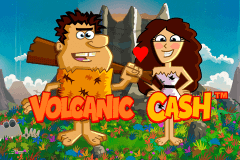 logo volcanic cash novomatic slot game