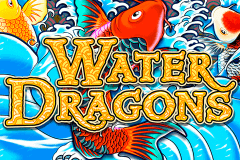 logo water dragons igt slot game