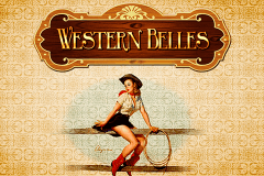 logo western belles igt slot game