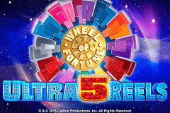logo wheel of fortune ultra 5 reels igt slot game