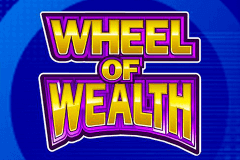logo wheel of wealth microgaming slot game