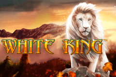 logo white king playtech slot game