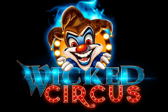 logo wicked circus yggdrasil slot game