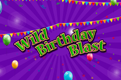 logo wild birthday blast 2by2 gaming slot game