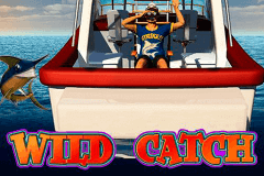logo wild catch microgaming slot game