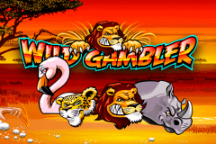 logo wild gambler playtech slot game