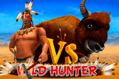 logo wild hunter playson slot game