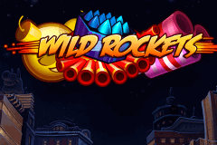 logo wild rockets netent slot game