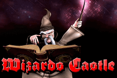 logo wizard castle betsoft slot game