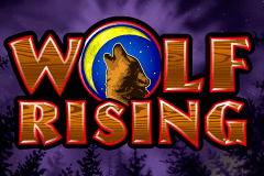 logo wolf rising igt slot game