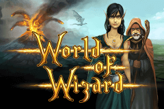 logo world of wizard merkur