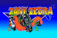 logo zany zebra microgaming slot game
