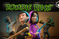 logo zombie rush leander slot game