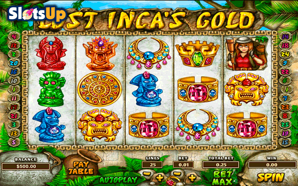Lost City of Incas Slot Machine - Play for Free Online