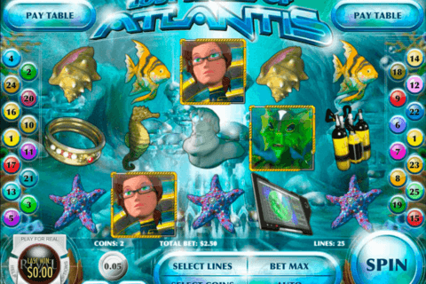 LOST SECRET OF ATLANTIS RIVAL CASINO SLOTS