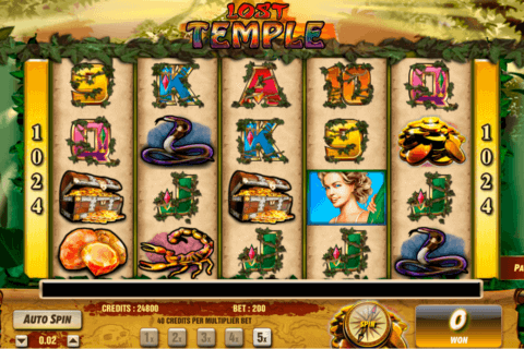 LOST TEMPLE AMAYA CASINO SLOTS
