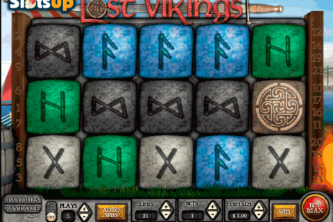 lost vikings vista gaming casino slots 480x320
