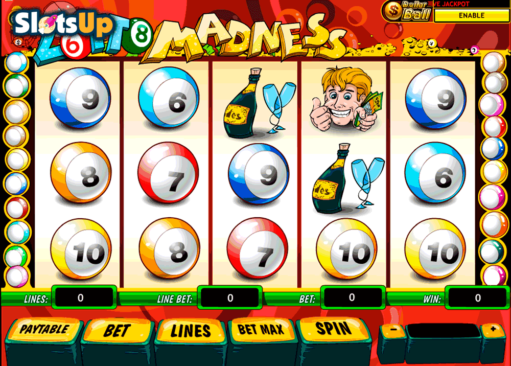 Play Lotto Madness Slots Online at Casino.com Canada