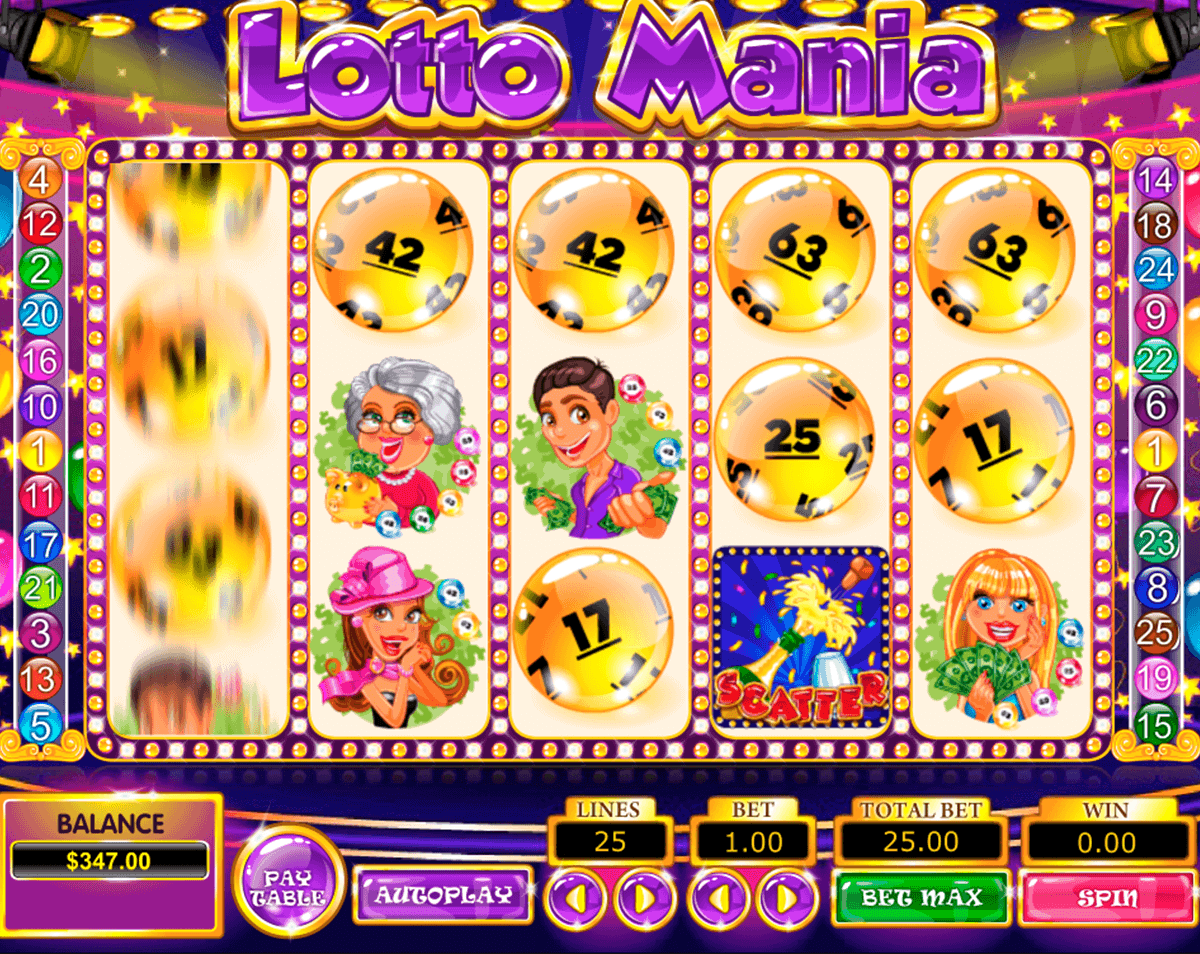 LOTTO MANIA PRAGMATIC