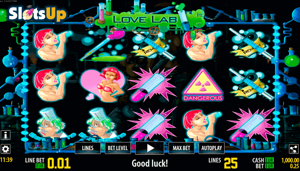 Love Lab HD Slot Machine Online ᐈ World Match™ Casino Slots