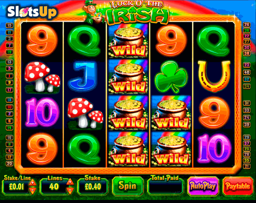 LUCK O THE IRISH BLUEPRINT CASINO SLOTS