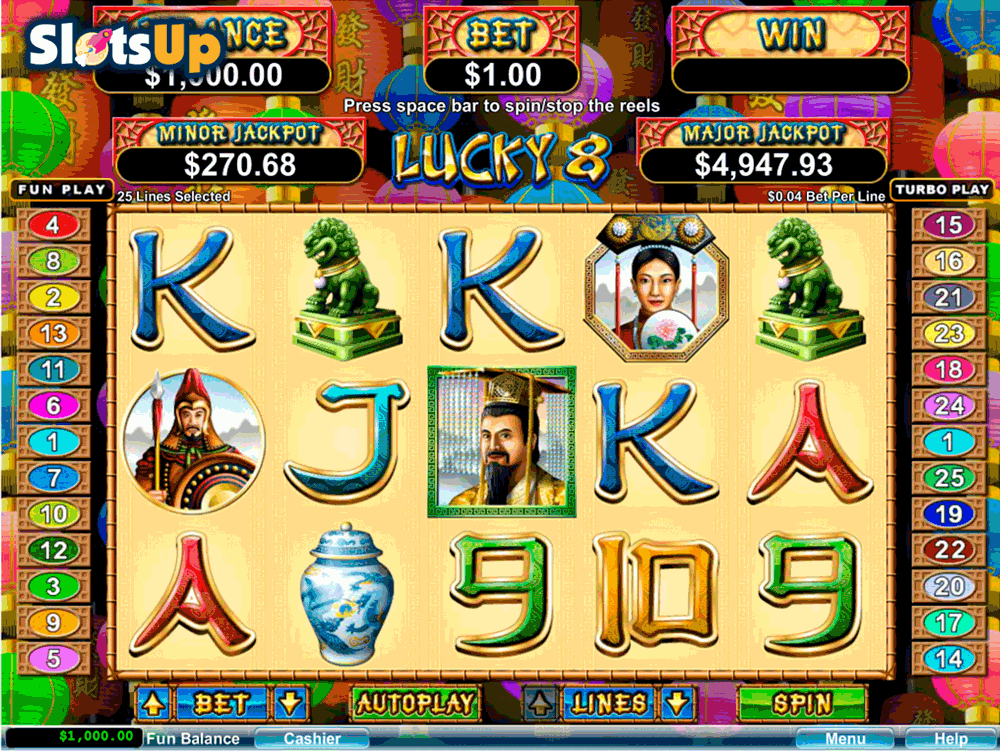 Lucky 8 Slot Machine Online ᐈ Rtg Casino Slots