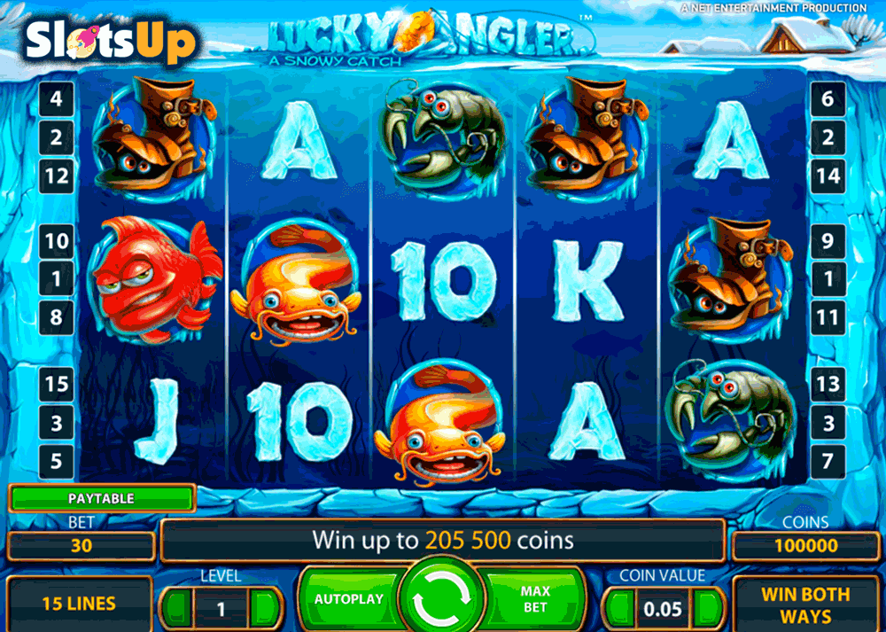 Play Lucky Angler Slot Game Online | OVO Casino