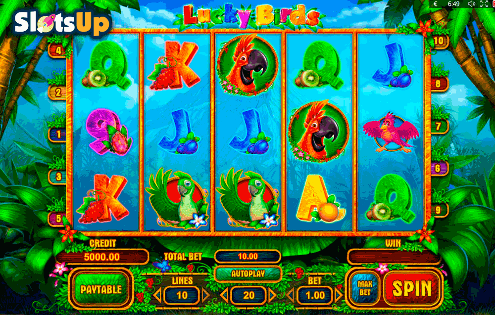 lucky birds playson casino slots