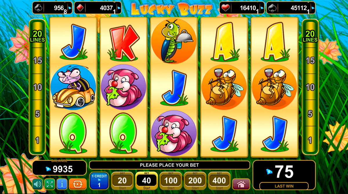 Lucky Buzz Slot Machine - Free Online EGT Slots Game
