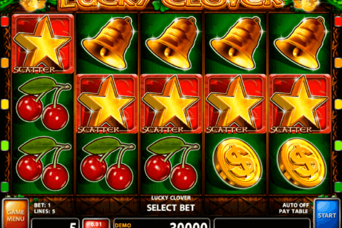 LUCKY CLOVER CASINO TECHNOLOGY SLOT MACHINE