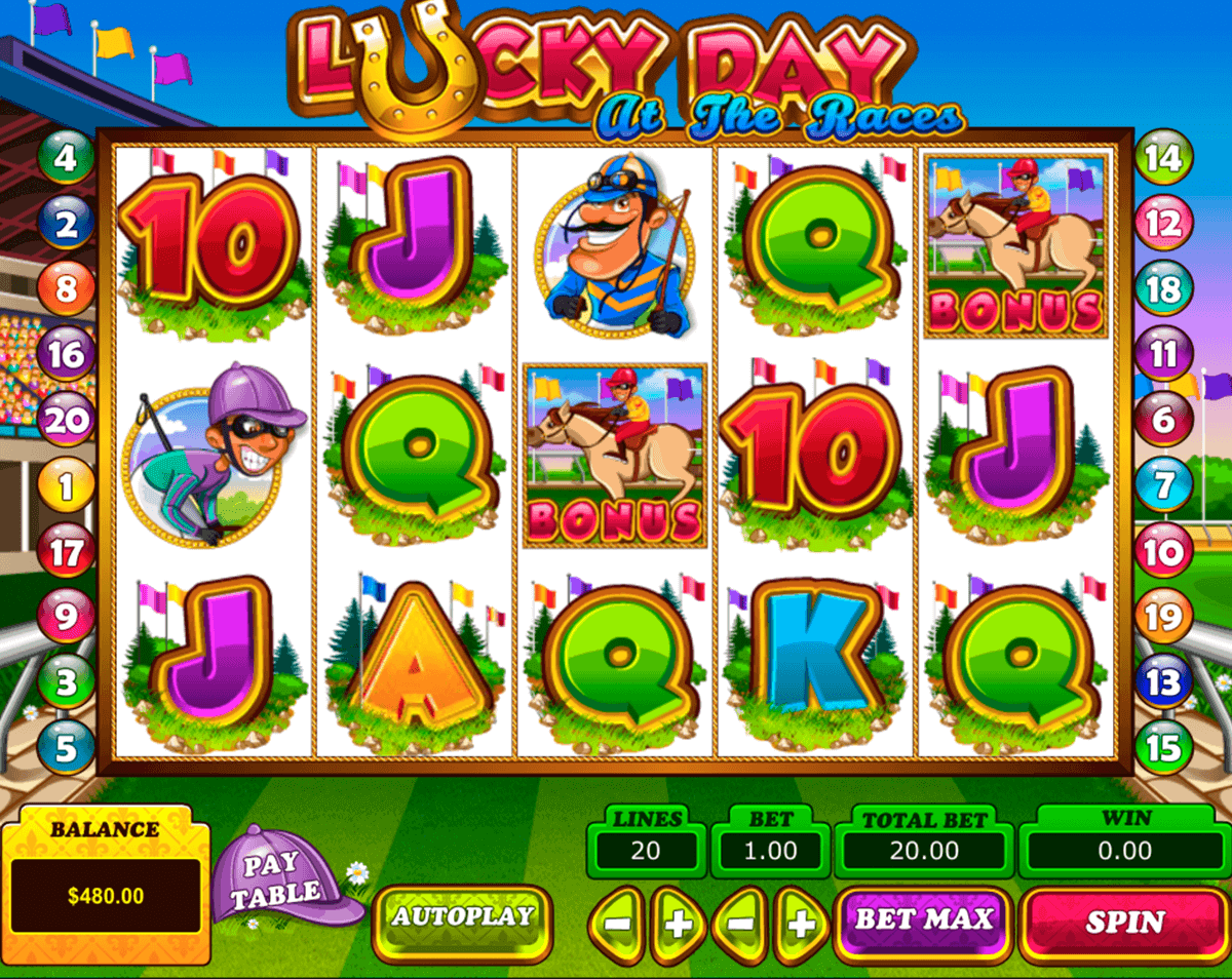 Lucky Day at the Races Slot Machine Online ᐈ ™ Casino Slots
