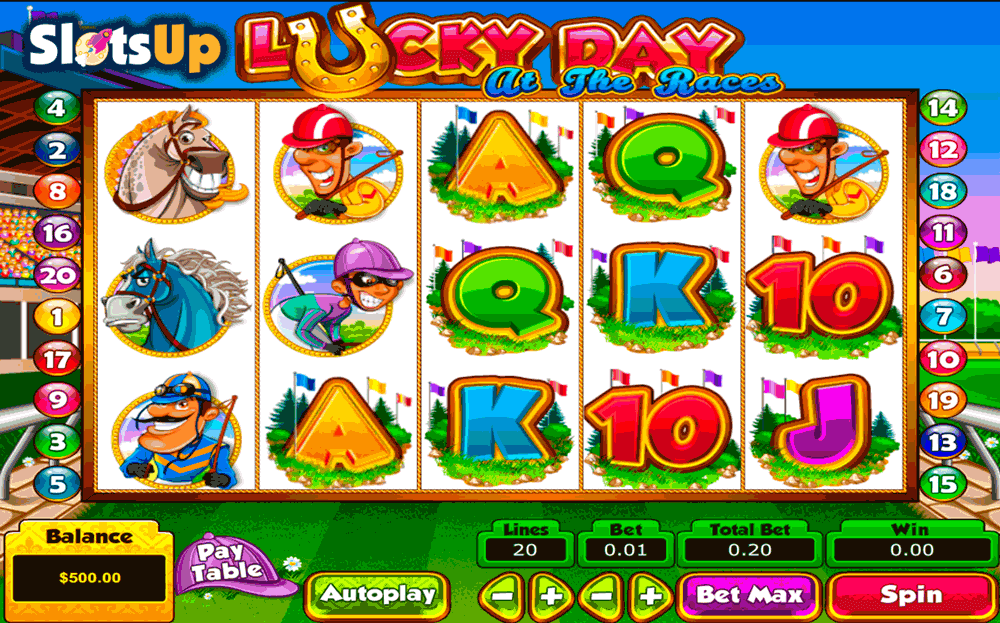 Lucky Day at the Races Slot Machine Online ᐈ Pragmatic Play™ Casino Slots