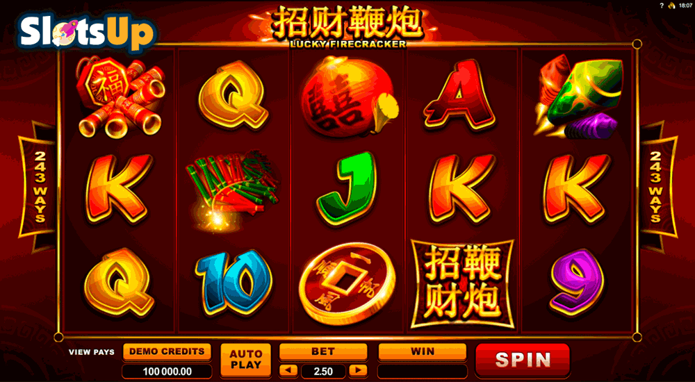 LUCKY FIRECRACKER MICROGAMING CASINO SLOTS