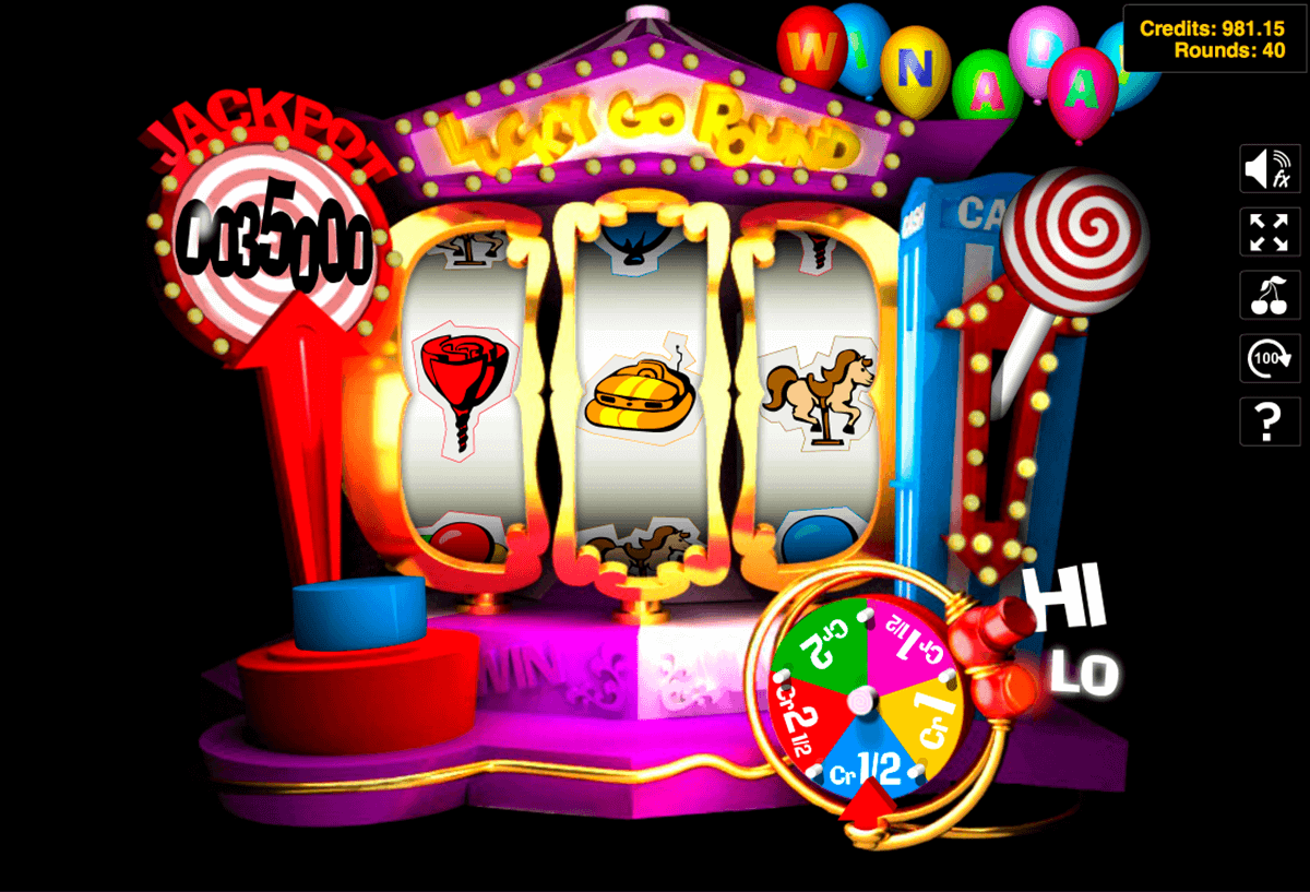 Lucky Go Round Slot Machine - Play Online for Free