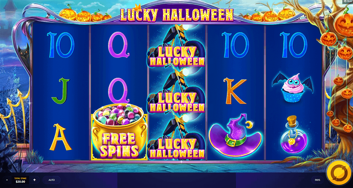 LUCKY HALLOWEEN RED TIGER CASINO SLOTS