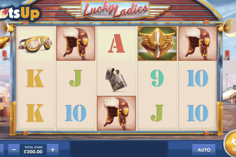 lucky ladies cayetano casino slots