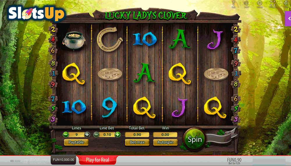 play online casino slots lucky lady