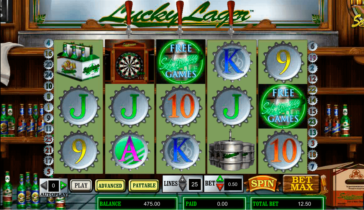 Lucky Lager Slot Machine – Free Online Casino Game by Amaya