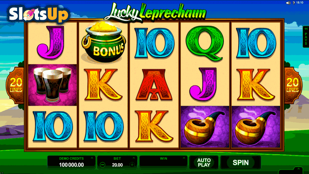 Leprechauns Luck - Free Internet Video Slot