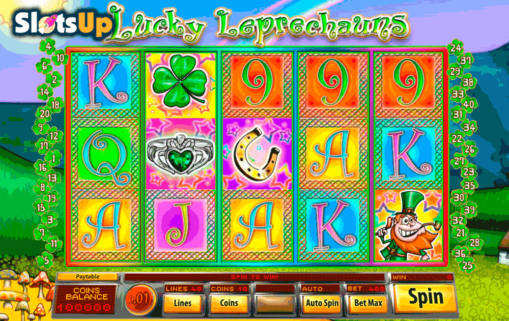 lucky leprechauns saucify casino slots