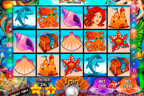 lucky mermaid slots multislot casino slots 480x320