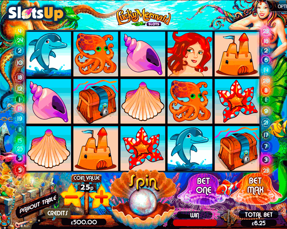 LUCKY MERMAID SLOTS MULTISLOT CASINO SLOTS