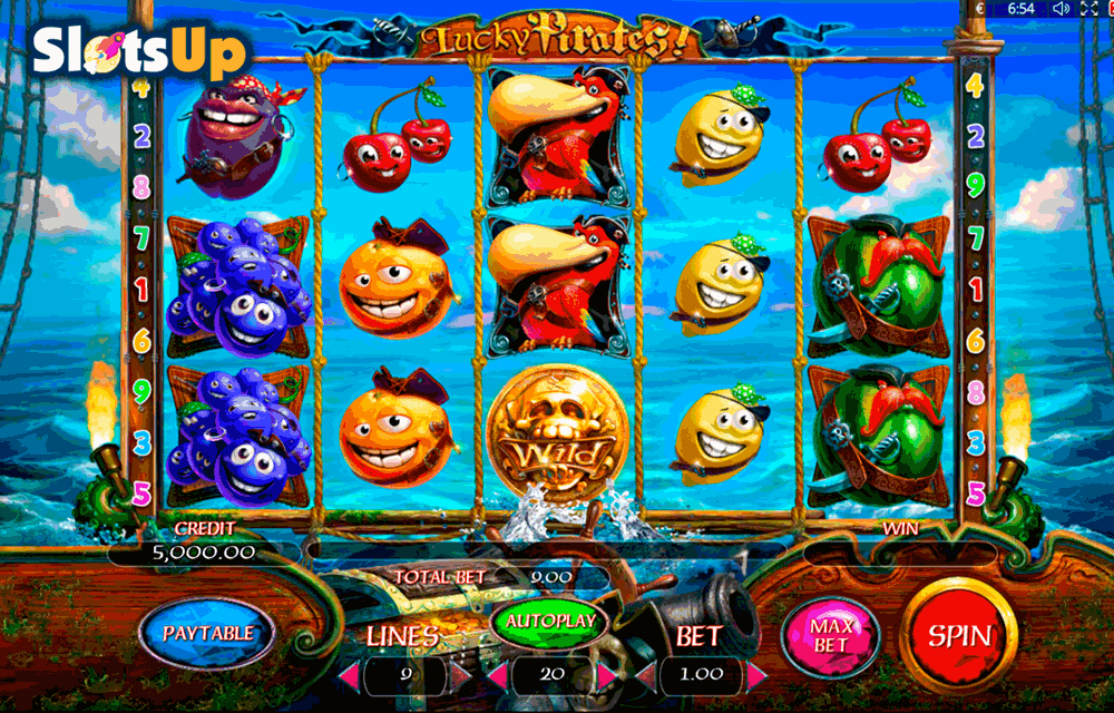 LUCKY PIRATES PLAYSON CASINO SLOTS