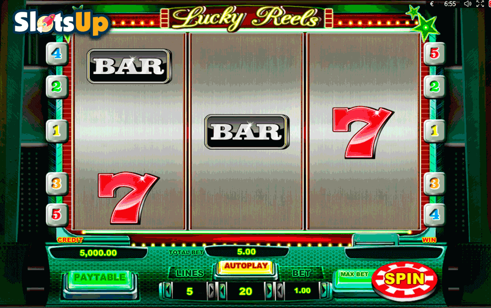 lucky reels playson casino slots